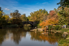 Central Park - New York City (Mike Boening Photography) Tags: newyork olympuspenf mikeboening olympus olympussummit streetpeople streetphotograhy streetshotting subway centralpark streetshooting fallcolors bridge land daytime