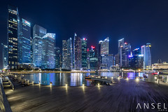 The Night Test (draken413o) Tags: singapore marina bay city cityscapes skyline skyscrapers night lights panorama irix 15mm asia travel destinations architecture urban places scenes canon 5d mark iv 4