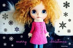 Merry Christmas! (mademoiselleblythe) Tags: blythe doll zaloa custom stellinna