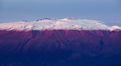 White Mauna Kea (Raiatea Arcuri) Tags: maunakea maunaloa snow capped mountain volcano hawaii bigisland afterglow sunset bluehour