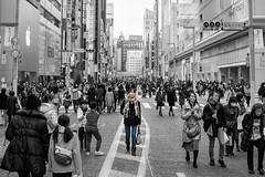 Sunday at Ginza (Shinichiro Hamazaki) Tags: ginza japan tokyo 銀座 東京 中央通り