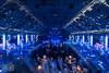 blue space (genelabo) Tags: tonhalle ssm crushedeyes media pmi planet christmas space stars weihnachtsfeier indoor party videobeamer millumen münchen blue balu spaceship