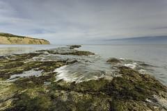Robin Hood Bay (wacphoto) Tags: sea england seascape beach water rock seaside europe tide shoreline northyorkshire robinhoodsbay coastalscene