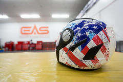 We can wrap anything, including helmets to express your personality or match your bike.