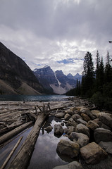 Moraine lake (Owen Seago) Tags: bear sea lake canada mountains vancouver whistler island waterfall jasper eagle wildlife seat totem victoria driftwood chipmunk seal killer gods banff whale poles orca olympics ucluelet