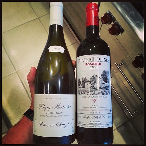 #PulignyMontrachet #ChateauPlince #winespectator #finewine