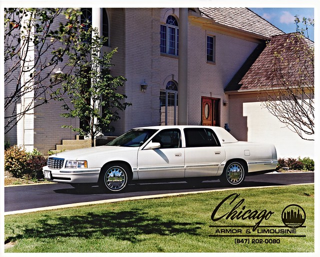cadillac 1997 brochure flagship brougham