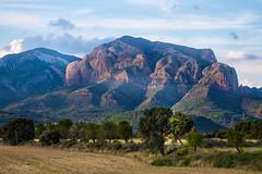 Mallos, Aragon, Spain (beckstei) Tags: blue sky mountain mountains nature clouds landscape spain huesca cumulus aragon pyrenees zaragosa mallos anies rigelos ayerba