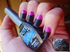 M: Mangue - Dote. (Raíssa S. (:) Tags: nail rosa polish preto nails avon unhas dote esmalte cremoso liquidsand