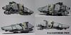 S-44 Ganymede Twin (Blockaderunner) Tags: war ship republic lego space military craft scout scifi ganymede moc microspace