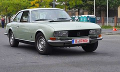 Peugeot 504 Coupe (1977) (Transaxle (alias Toprope)) Tags: auto old france berlin classic cars beauty car vintage french nikon power antique young voiture historic retro vehicles coche soul carros classics carro vehicle oldtimer obi motor autos veteran 1977 diva macchina coupe peugeot antic coches 504 neukoelln veterans clasico voitures toprope neuklln antigo pininfarina youngtimer macchine klassik d90 parcours clasicos motorklassik grenzallee pereci motorklassikclub
