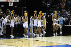 UCLA Cheerleaders (dbadair) Tags: dance sweet spirit memphis gators ucla 16 vs win squad 7968 20140327