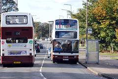 621 & 624 (Callum's Buses & Stuff) Tags: bus buses edinburgh short dennis denis lothian trident westerhailes madder lothianbuses edinburghbus dennins madderandwhite madderwhite sn51ayh sn51aye busesedinburgh dennislothianbuses