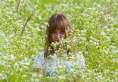 Russian field (Osdu) Tags: flowers portrait people nature girl field lady flora women russia russian russiangirl russianfield