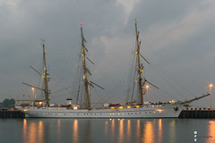 Kiel - abendliche #Gorch Fock 2 (MPU Photography) Tags: germany de deutschland balticsea bluehour kiel schleswigholstein gorchfock 2014 kielerfrde blauestunde tirpitzhafen martinphillipullmann mpuphotography