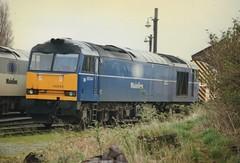 "Mainline Freight Liveried Class 60, 60044 ""Ailsa Craig"" (37190 ""Dalzell"") Tags: warrington doughnut tug ailsacraig class60 60044 arpley mainlinefreight aircraftblue"