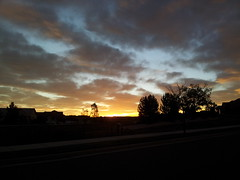 October 1, 2014 - A gorgeous sunrise in Broomfield. (David Canfield)