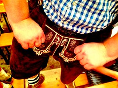 Lederhosen equipment at The volksfest!