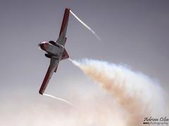 Spain Air Force --- Patrulla guila --- CASA C-101 Aviojet --- E25-87 (Drinu C) Tags: plane casa aircraft military sony dsc mla patrullaguila aviojet c101 spainairforce lmml e2587 hx100v adrianciliaphotography maltainternationalairshow2014