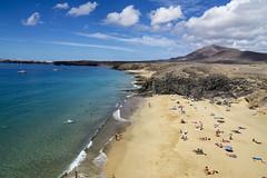 Lanazarote, Papagayo Beach (robinlockwood) Tags: sea beach swimming lanzarote bathing papagayo