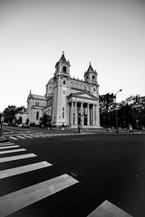 Cathedral of the Sacred Heart (bionicteaching) Tags: blackandwhite bw church virginia unitedstates cathedral richmond rva cathedralofthesacredheart
