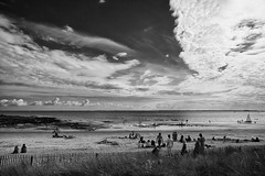 tramonto sulla spiaggia (* onda *) Tags: sunsetonthebeach