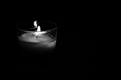 fiammetta (miglio) Tags: light canon candle candela luce biancoenero canoneos7d efs1585mmf3556isusm