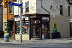 DSC_0728 v2 (collations) Tags: toronto ontario architecture documentary vernacular streetscapes builtenvironment cornerstores conveniencestores urbanfabric varietystores