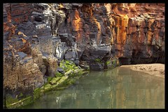 Colourful Rockface (Neil Tackaberry) Tags: ballybunion county co kerry countykerry cokerry ballyb shannonestuary cliff face rock colourful colorful minerals chemistry geology water pool beach wildatlanticway tourism neilt neiltackaberry neil tackaberry northkerry