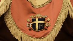 Arms of Pope St John Paul II (Lawrence OP) Tags: pope saint washingtondc heraldry coatofarms johnpaulii basilica immaculateconception nationalshrine ombrellino