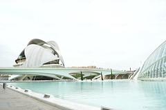 Ciudad de las arte y las ciencias (Cristian D. PH) Tags: water valencia modern agua ciudad build acqua moderno città