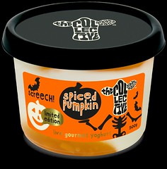 Spiced Pumpkin Limited Edition Live Gourmet Yoghurt by The Collective (FoodBev Photos) Tags: food orange halloween pumpkin scary spooky tub dairy limitededition thecollective spicedpumpkinlimitededitionlivegourmetyoghurt