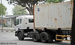 Scania 124C 420 (Waverly Fan) Tags: port truck gateway psa logistics inter haulage ubts