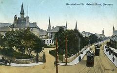 Swansea Hospital (robmcrorie) Tags: history swansea wales hospital evans general ben patient health national doctor nhs service british nurse healthcare