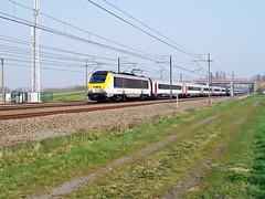 1346  Landegem  03.04.09 (w. + h. brutzer) Tags: digital train nikon eisenbahn railway zug trains locomotive 13 belgien lokomotive elok eisenbahnen sncb landegem eloks webru