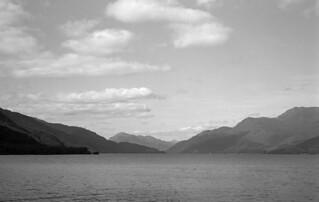 Looking North towards Ben Lomond Loch Lomond Delta100 Pyro HD Scotland