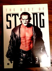 Most recent addition to the #WWE tape collection. This guy is the reason I became a fan, way back in 1997. #oldauthorisold #Sting #wrestling (robinleighx) Tags: wrestling sting wwe oldauthorisold