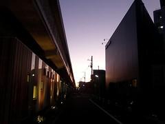 #7085 evening sky after typhoon (Nemo's great uncle) Tags: sunset tokyo 東京 sakuragaoka 世田谷区 setagayaku 日没 桜丘五丁目