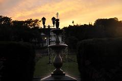 fountain shape (SoccerSarah16) Tags: sunset water pretty falling