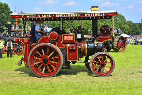Woolpit Steam Rally, Steam Engine