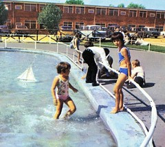 Pontins Hemsby Holiday Camp - Photo from 1972 brochure (trainsandstuff) Tags: vintage norfolk retro archival pontins holidaycamp hemsby maddiesons