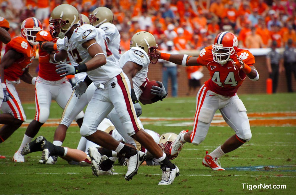 Clemson Photos: 2009, Boston  College, Football, Scotty  Cooper