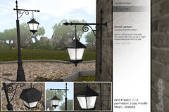 Sway's [Bygone] Street Lantern | MRF (Sway Dench / Sway's) Tags: lamp wall garden streetlamp lantern mystic streetlantern mrf walllamp sways