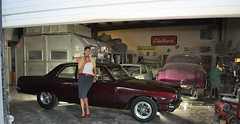 "1965 Chevelle Photo Shoot With Candace • <a style=""font-size:0.8em;"" href=""http://www.flickr.com/photos/85572005@N00/15506818295/"" target=""_blank"">View on Flickr</a>"