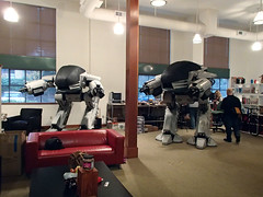 2nd ED at Make HQ (thorssoli) Tags: robot replica robocop prop ed209