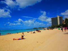 This morning at Waikiki Beach - October 12, 2014 - 28 (Jimmy - Home now) Tags: usa waterfront pacific waikiki oahu pacificocean honolulu waikikibeach pacificrim pacifics
