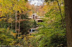 Falling Water by RX100III (Robert C. Armstrong) Tags: autumn trees nature zeiss pittsburgh pennsylvania sony franklloydwright fallingwater carlzeiss sonyalpha rx100iii sonyrx100iii robertarmstrongphotollc copyrightrobertarmstrongphotollc