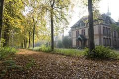 Beelitz female sanatorium (MeneerDijk) Tags: light berlin abandoned fuji sanatorium urbex beelitz