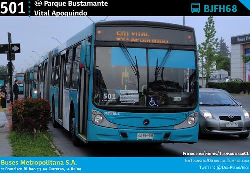 501 | (M) Parque Bustamante - Vital Apoquindo