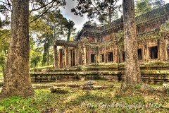 East Gate - Angkor Wat (Dave-Carroll) Tags: monument temple ancient asia cambodia southeastasia khmer ruin buddhism angkorwat carving spirituality siemreap angkor wat archeology hdr famousplace oldruin ancientcivilisation travellocation davecarrollphotography